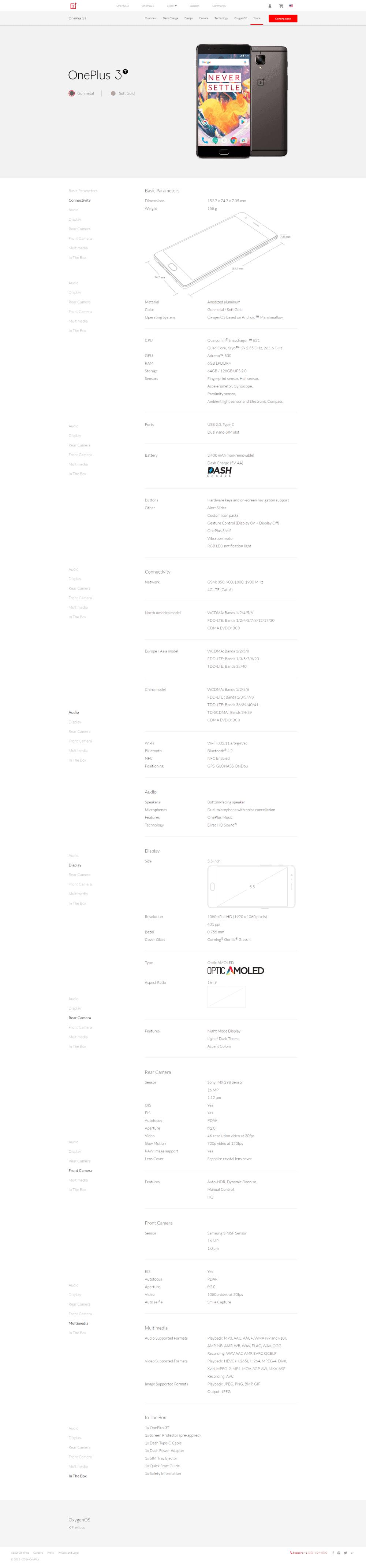 oneplus-3t-specs-leaked