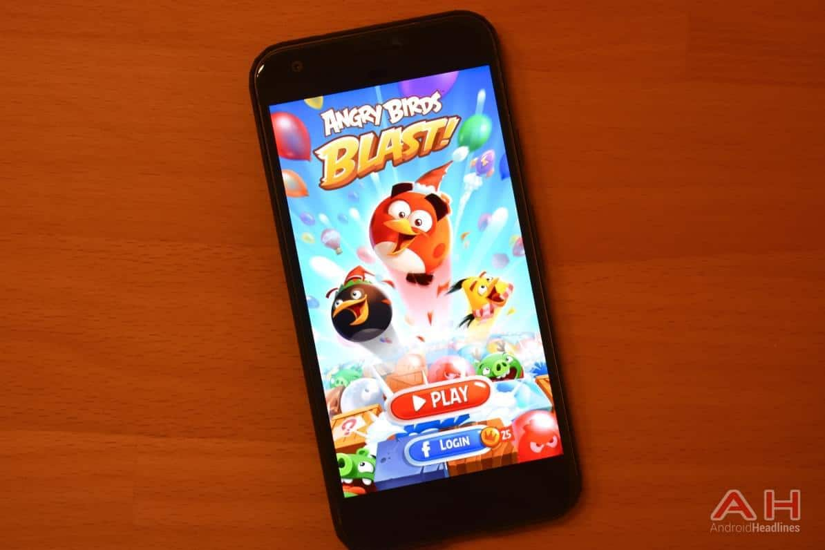 Angry Birds Blast Game Hits The Play Store