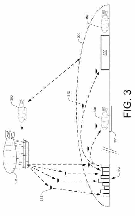 Amazon Flying Warehouse Patent 3