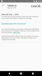 Android Pay Scotiabank Scene Visa Screenshot 2