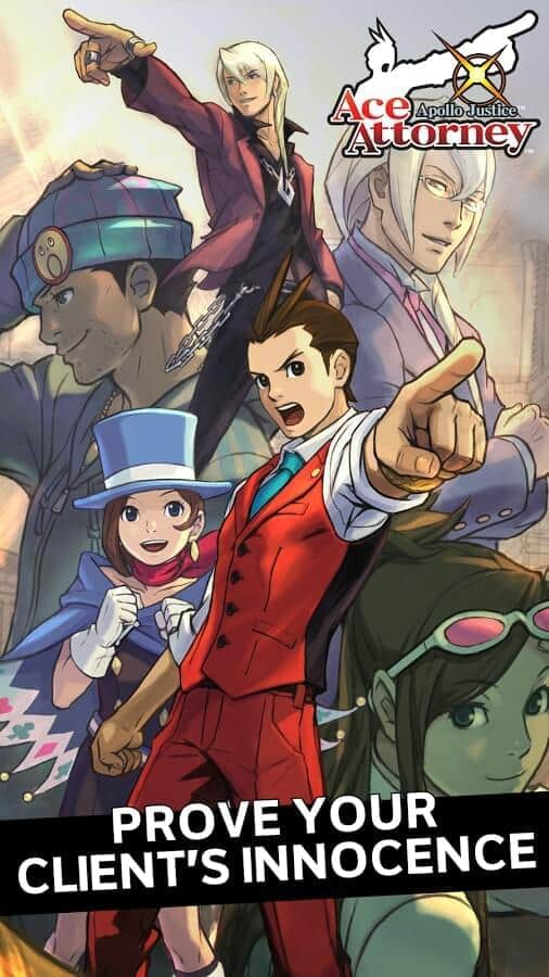Apollo Justice Ace Attorney game official image 1