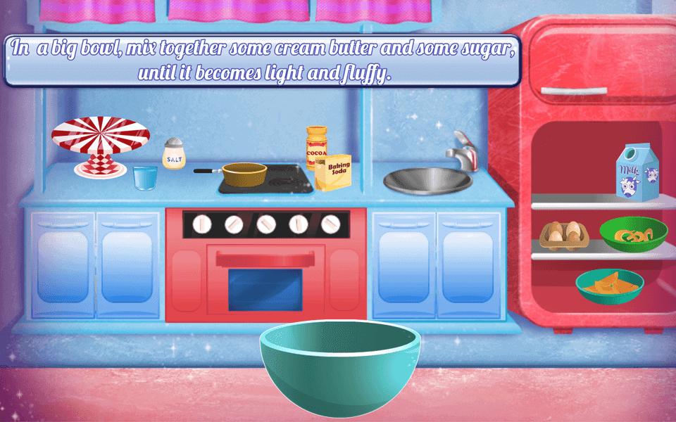 baking-christmas-cake