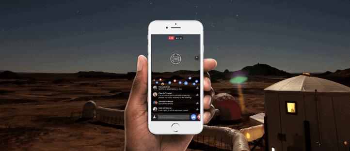 Facebook Live 360 Degree Video