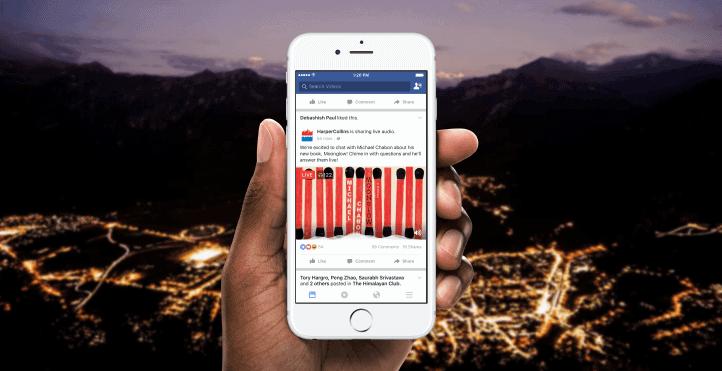 Facebook Live Audio Promo 1
