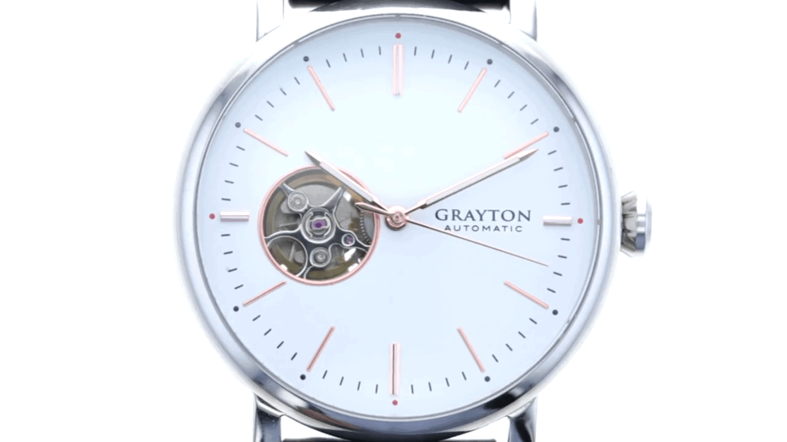 Grayton Origin Smartwatch Puts Smart Features In The Band ...