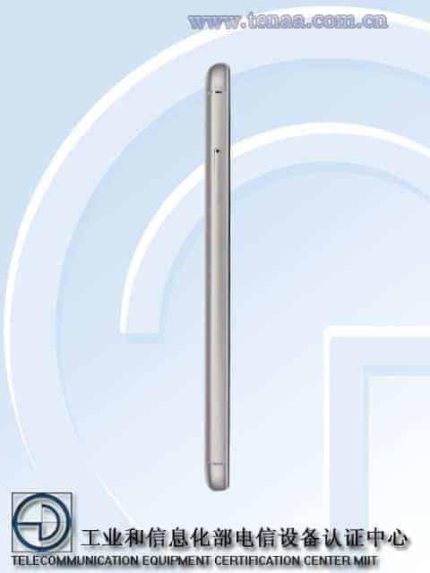 Meizu M5S TENAA 3