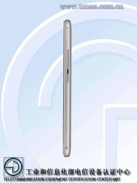 Meizu M5S TENAA 4