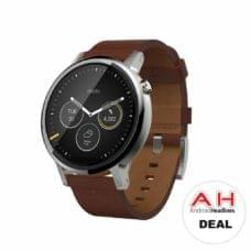 Deal: Moto 360 2nd Gen Android Wear Smartwatch for $139 – Today Only