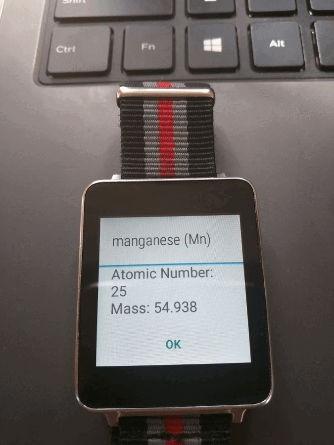 Top 10 android wear apps and faces december 2016 android news periodic table for wear top 10 urtaz Image collections