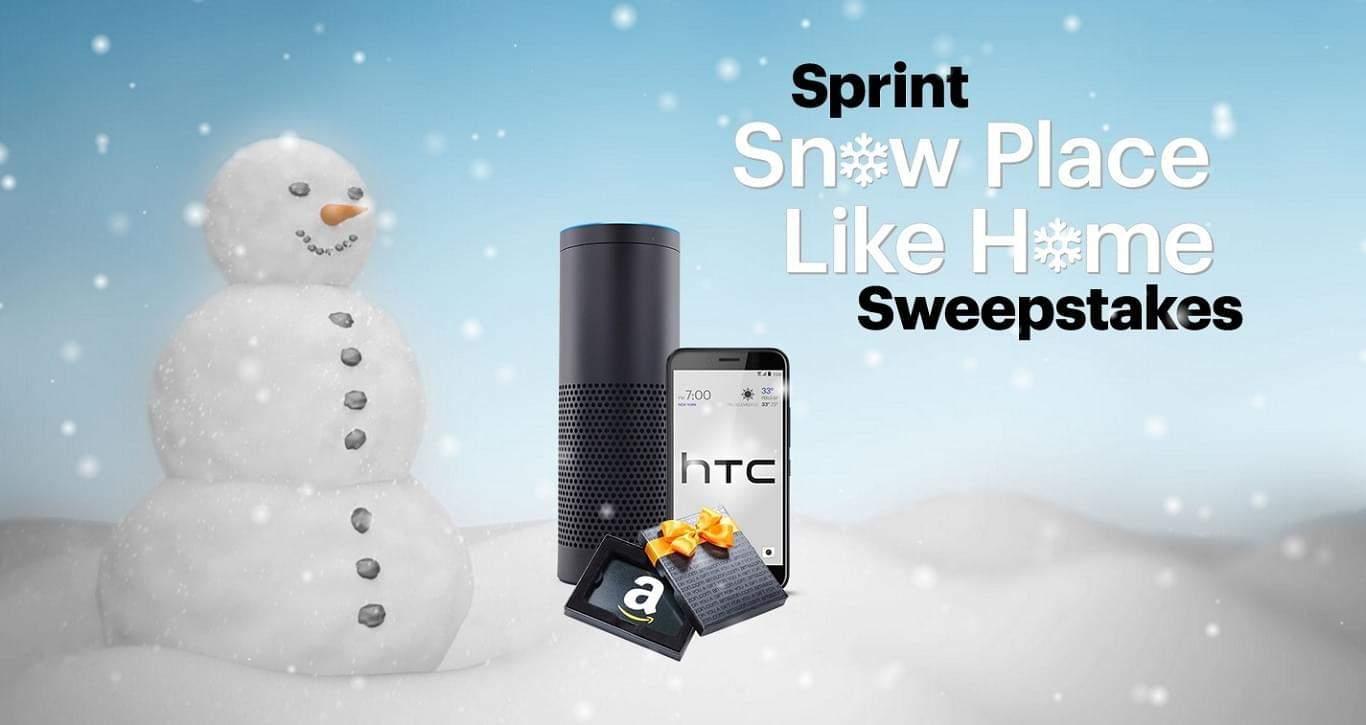 Sprint Snow Play Like Home