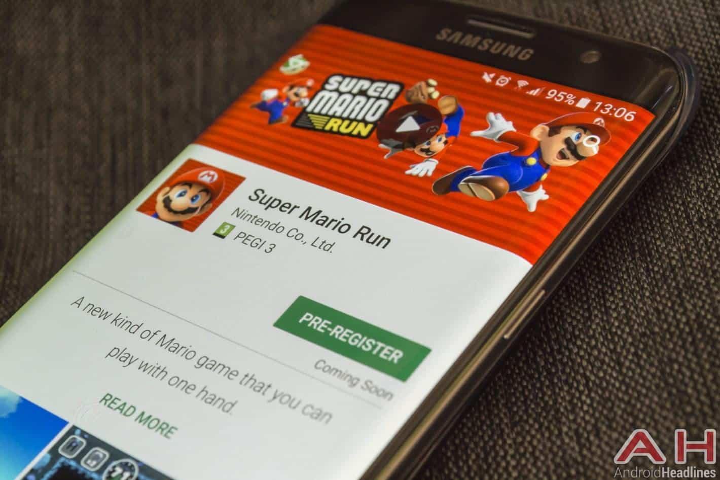 Super Mario Run Google Play Store AH