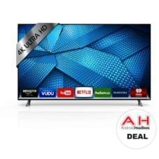 Deal: VIZIO 55-inch Smartcast 4K HDR LED TV for $529 – 10/19/17