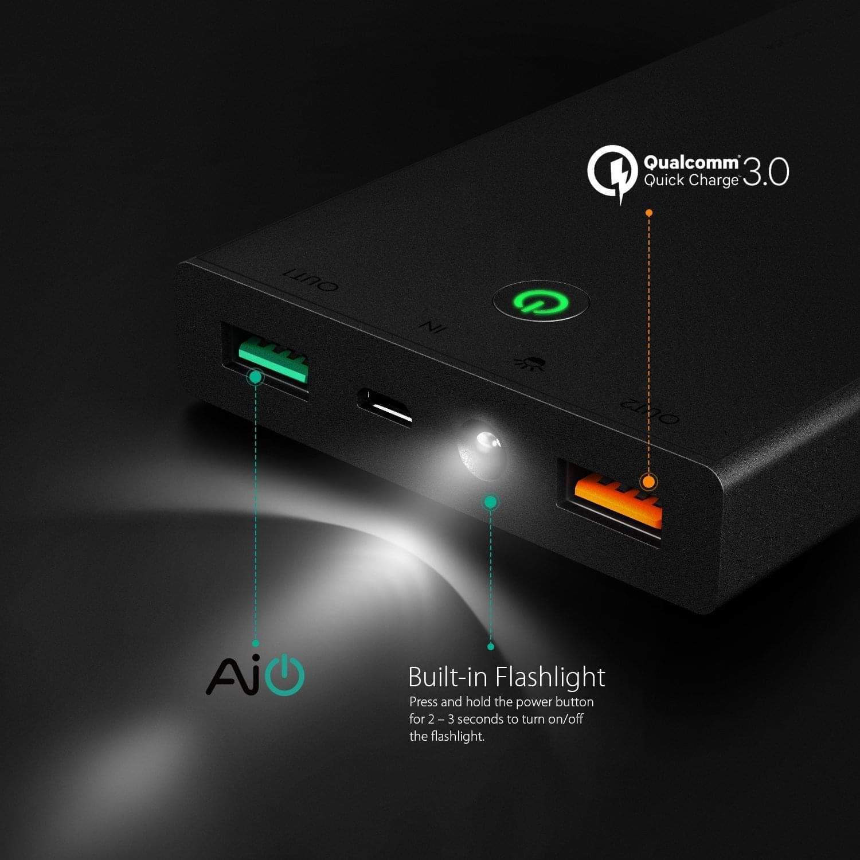 aukey 16000mah battery pack 2