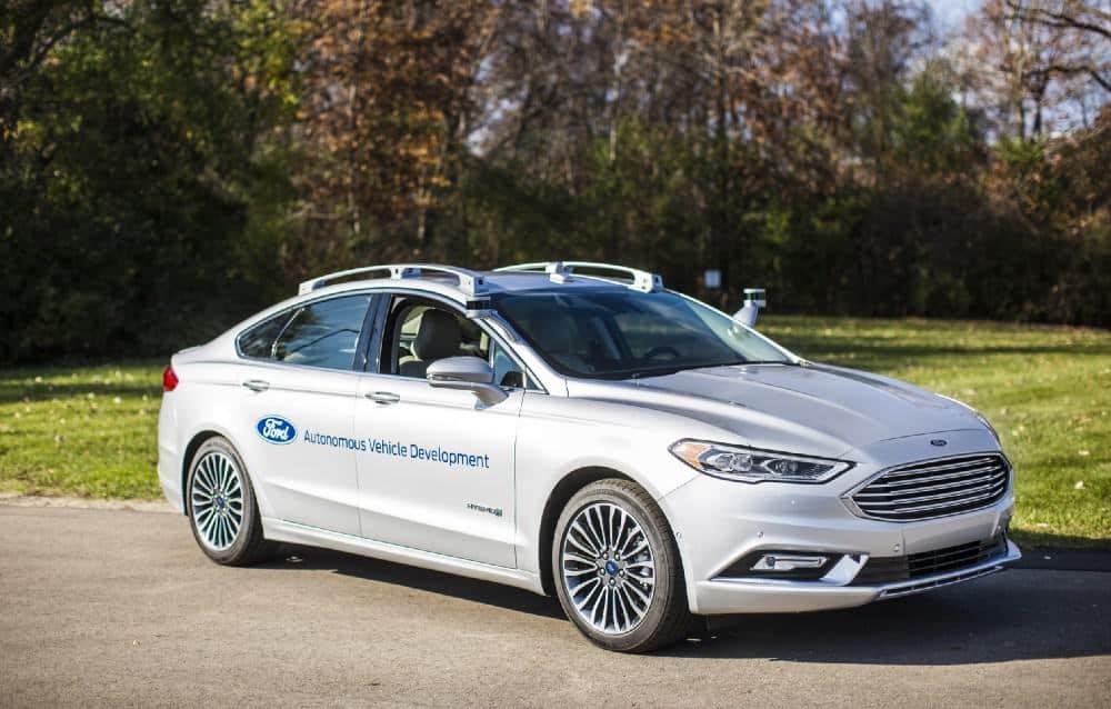 ford fusion hybrid autonomous 1