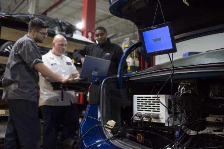 ford fusion hybrid autonomous 2