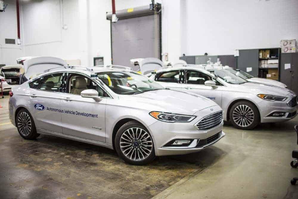 ford fusion hybrid autonomous 4