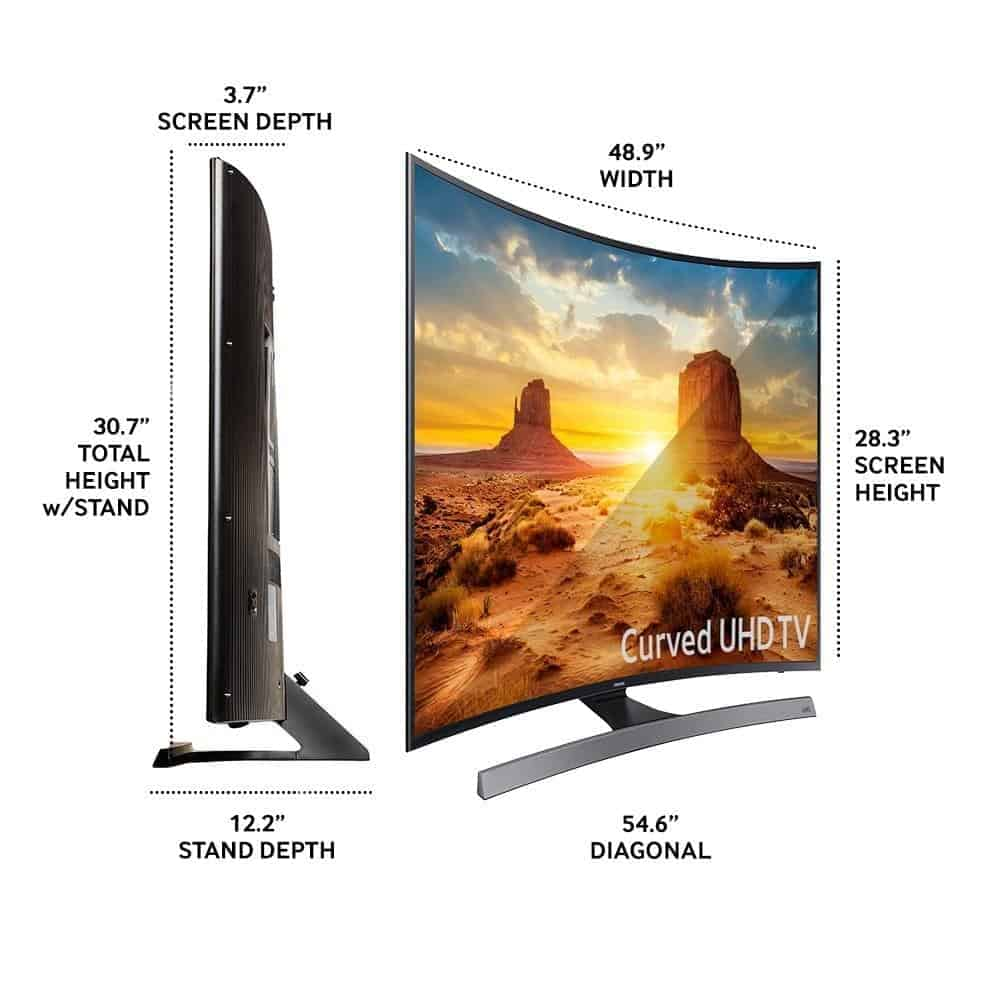 samsung 55 inch tv 4k. holiday tech gift ideas 2016-2017: samsung curved 55-inch 4k tv 55 inch tv 4k