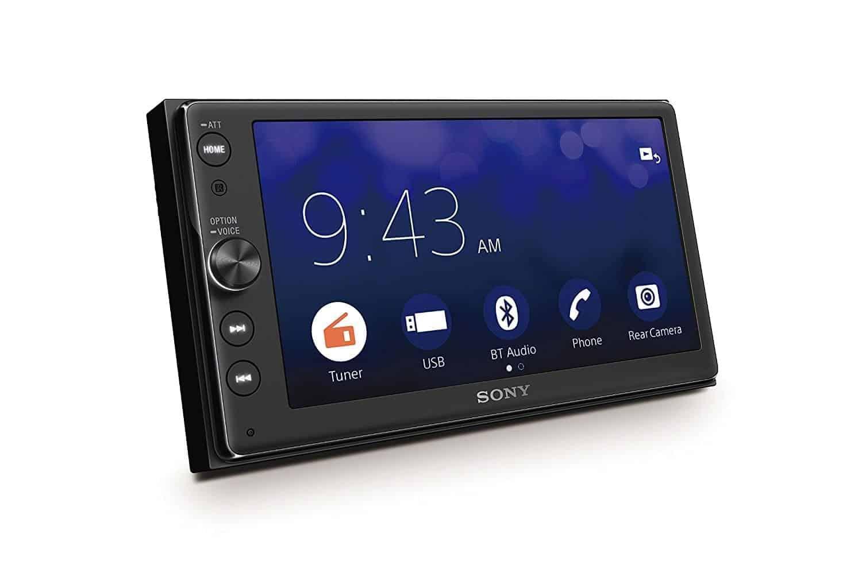 Sony s xav ax100 android auto head unit now available on amazon androidheadlines com