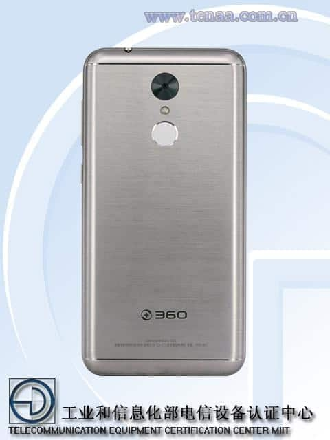 360 Mobiles smartphone with 6GB of RAM TENAA 2