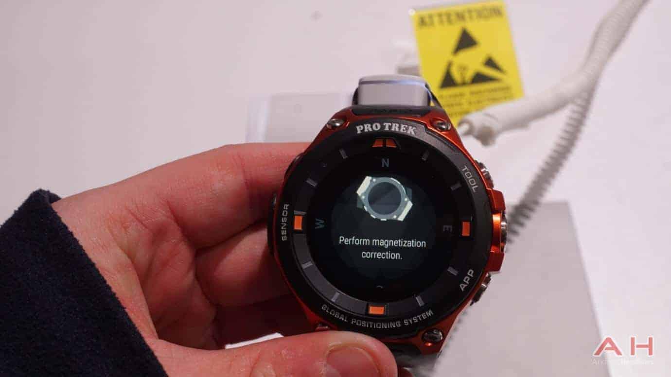 AH CASIO Pro Trek Smartwatch 11