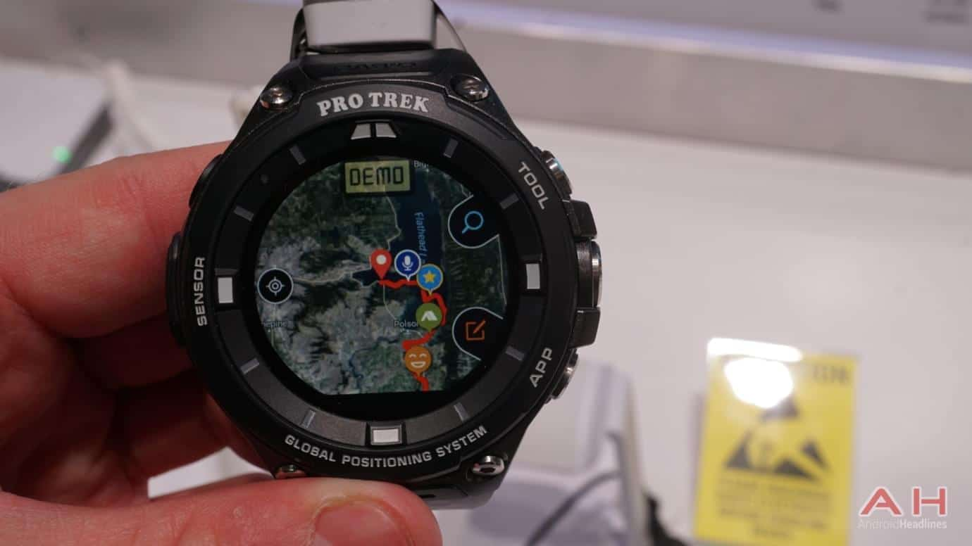 AH CASIO Pro Trek Smartwatch 15