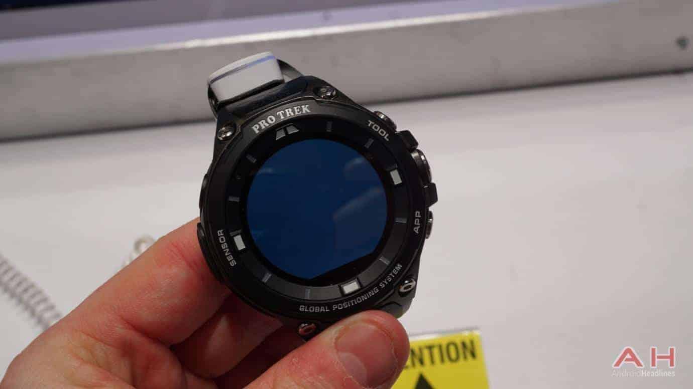 AH CASIO Pro Trek Smartwatch 4