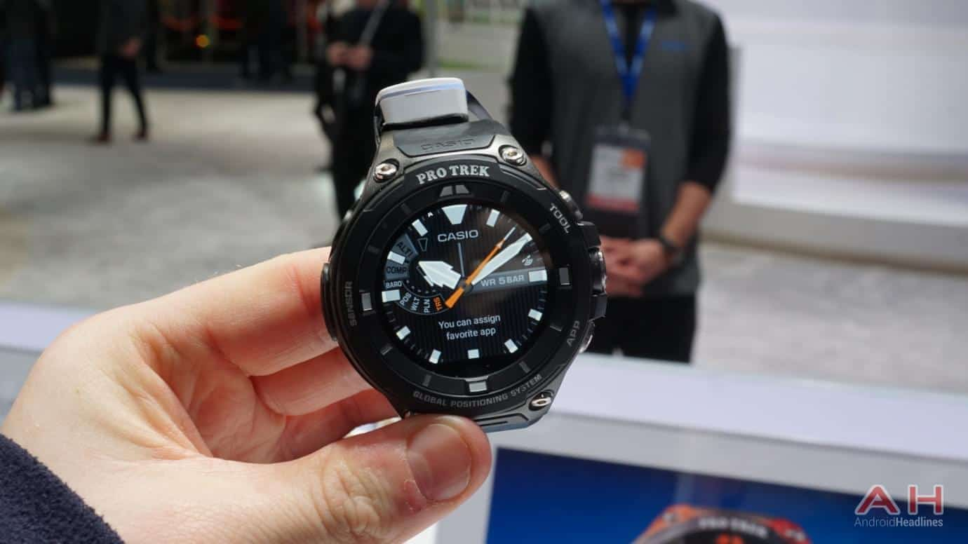 Ces 2017 Hands On With The Casio Pro Trek Smartwatch