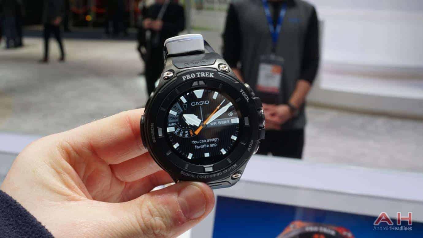 AH CASIO Pro Trek Smartwatch 6