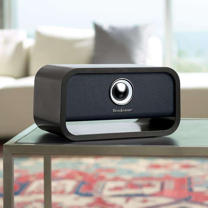 speakers with chromecast built in. brookstone\u0027s latest speakers come with chromecast built-in built in t