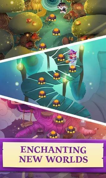 Bubble Witch 3 Saga Screenshot 4