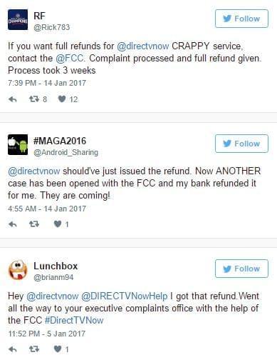 DIRECTV NOW Twitter Complaint 6
