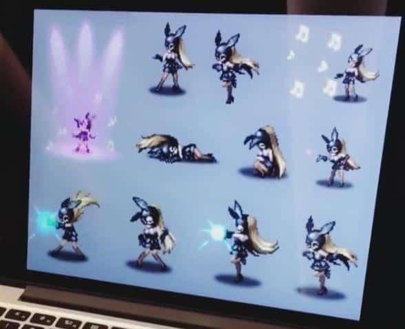 Final Fantasy Brave Exvius Ariana Grande Sprites 2