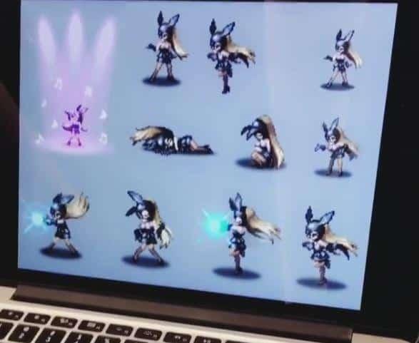 Final Fantasy Brave Exvius Ariana Grande Sprites 3
