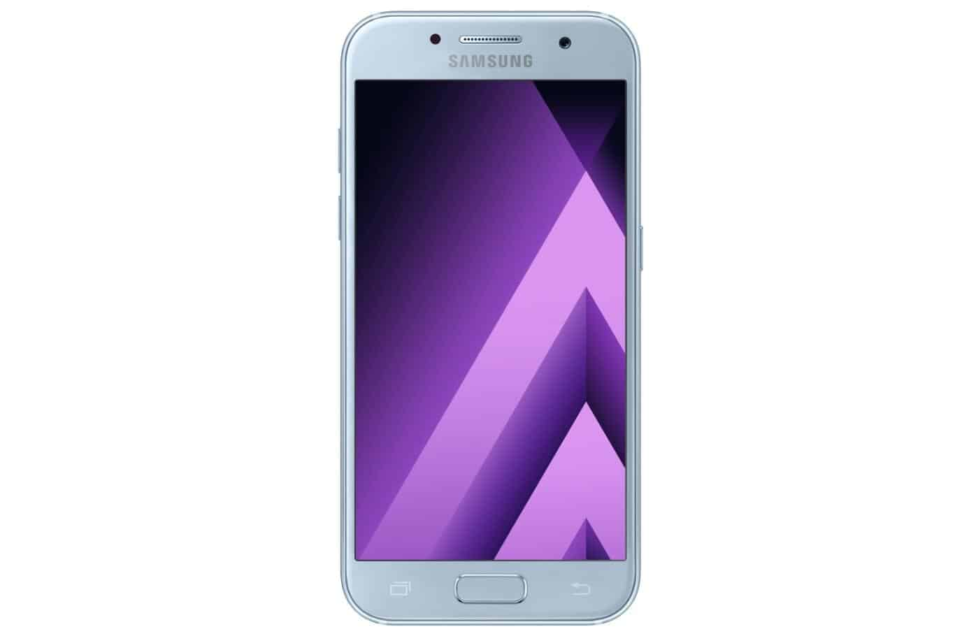 Galaxy A3 2017 Blue Mist 1