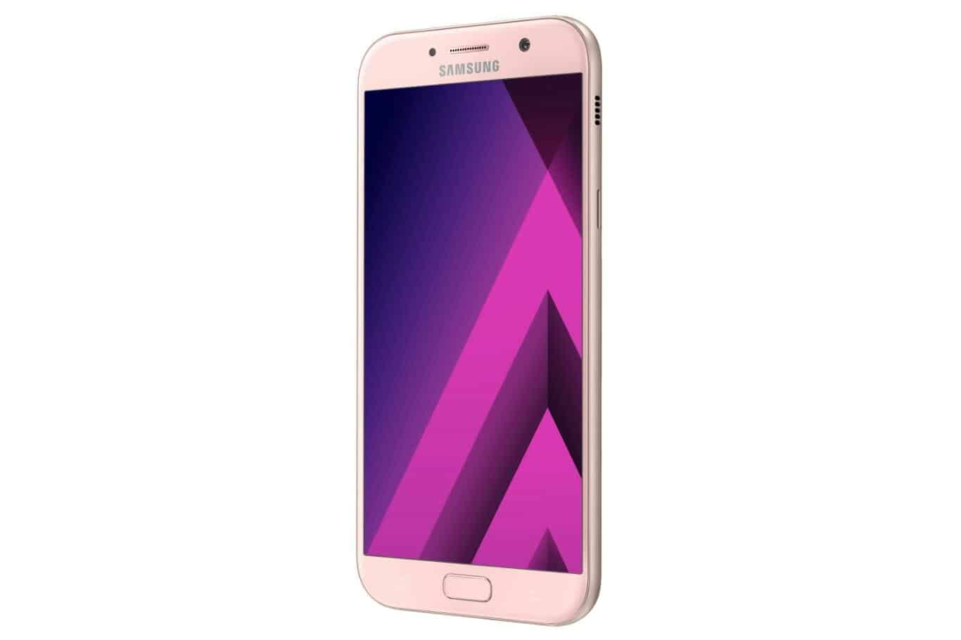 Galaxy A7 2017 Peach Cloud 1
