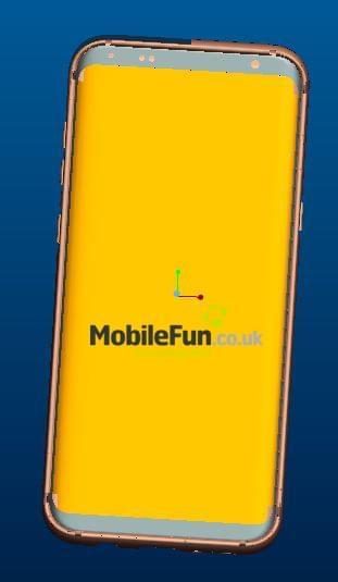 Galaxy S8 Render MobileFun 3
