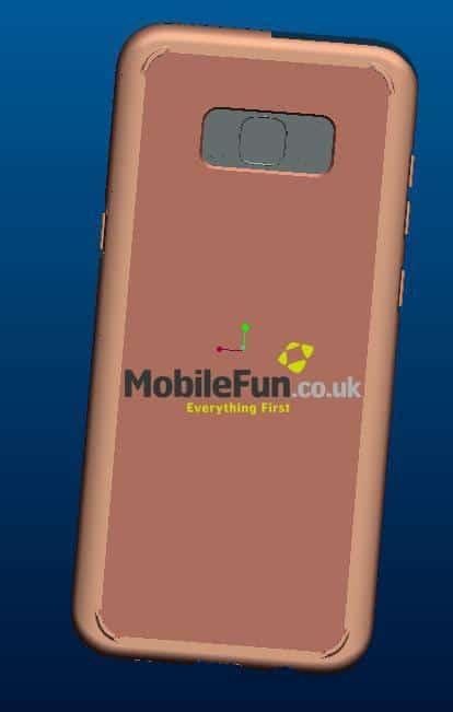 Galaxy S8 Render MobileFun 4