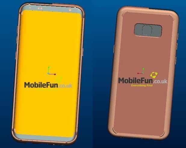 Galaxy S8 Render MobileFun Main
