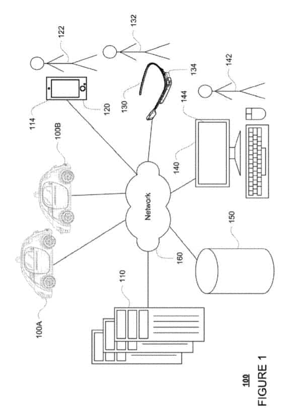 Google Self Driving Service Patent 2