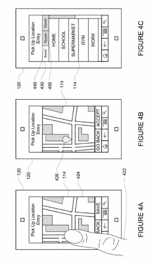 Google Self Driving Service Patent 5