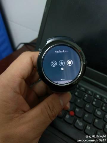 HTC Halfbeak Android Wear Watch 4