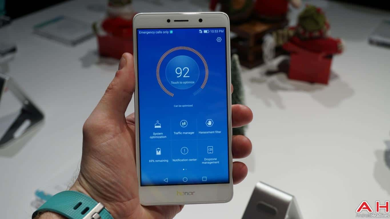 Honor 6X CES 2017 Hands On AH 18
