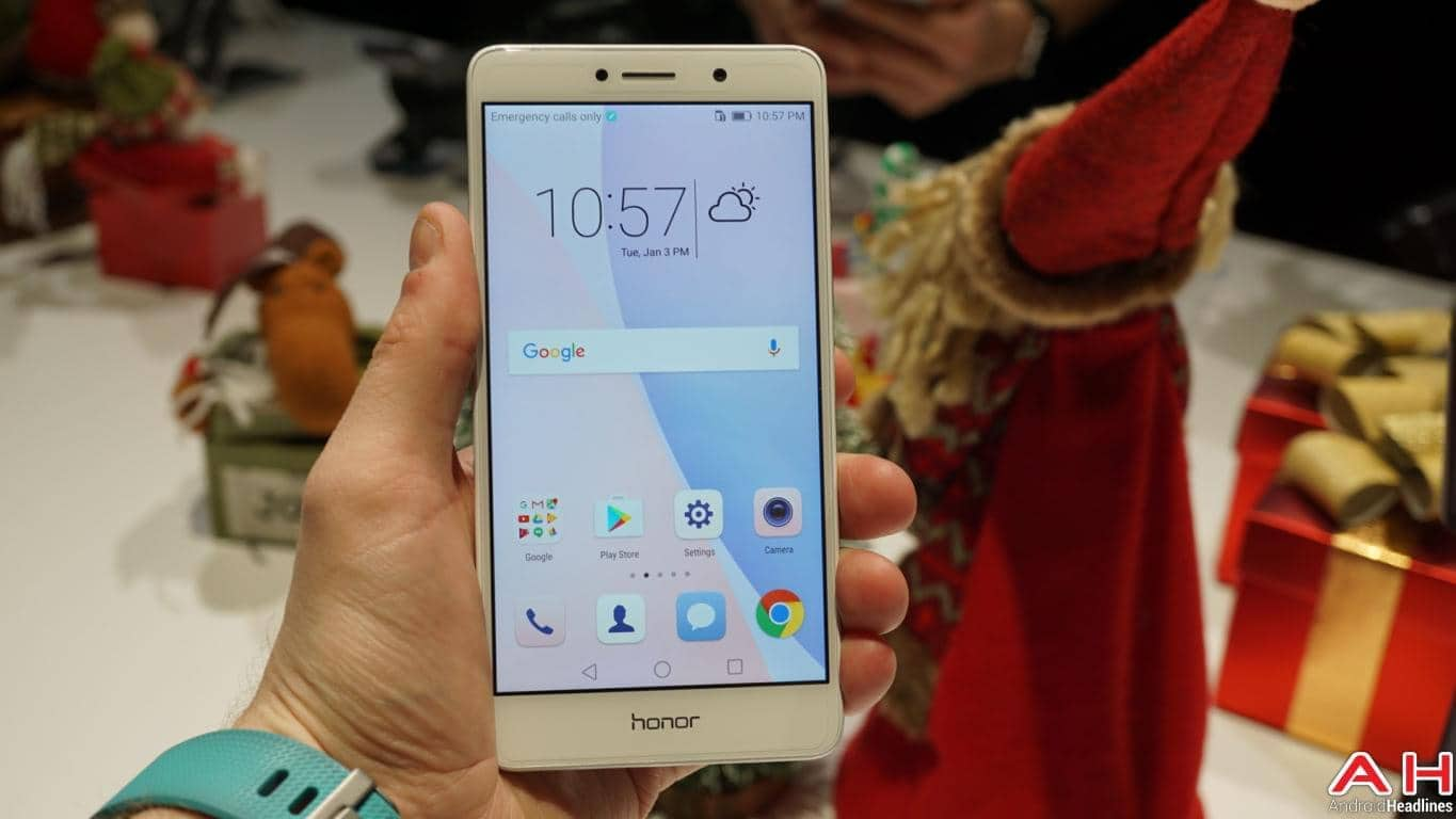 Honor 6X CES 2017 Hands On AH 21