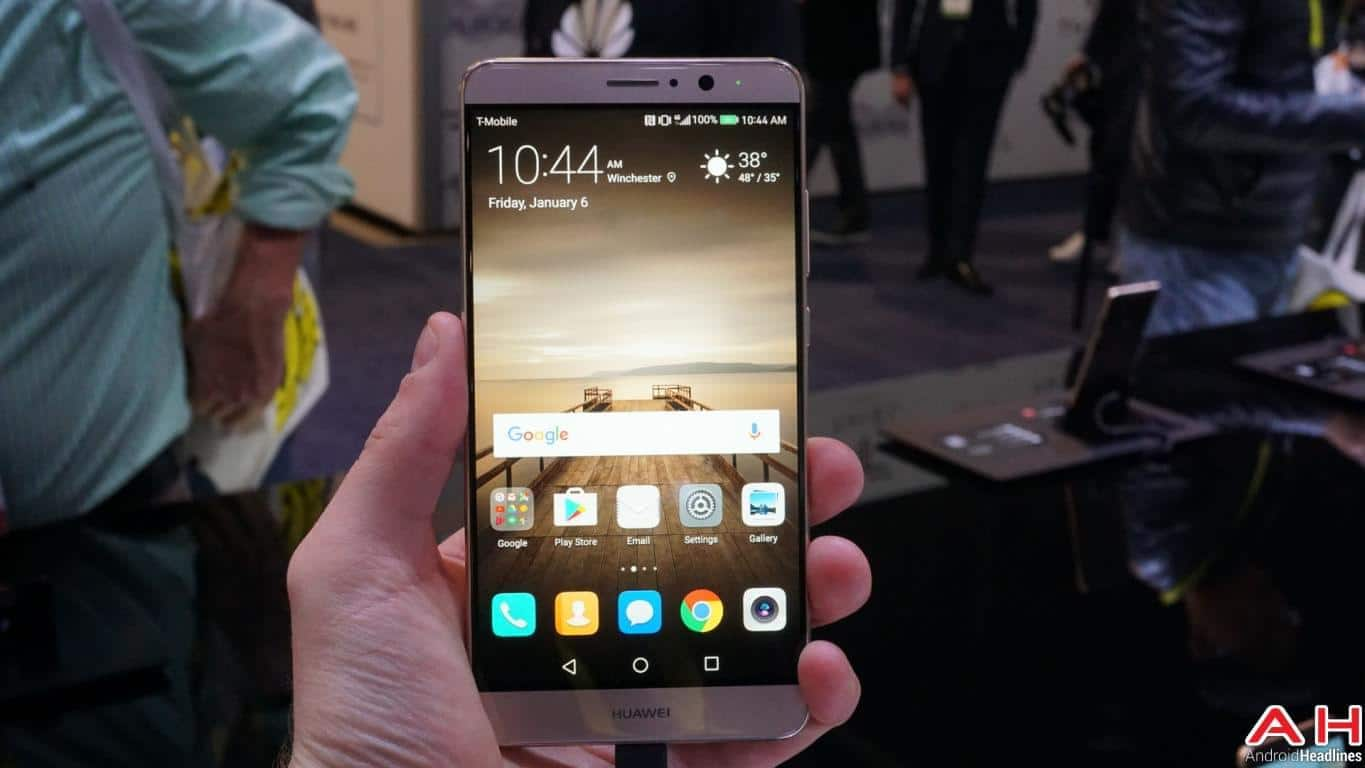 CES 2017: Hands-On With The Huawei Mate 9