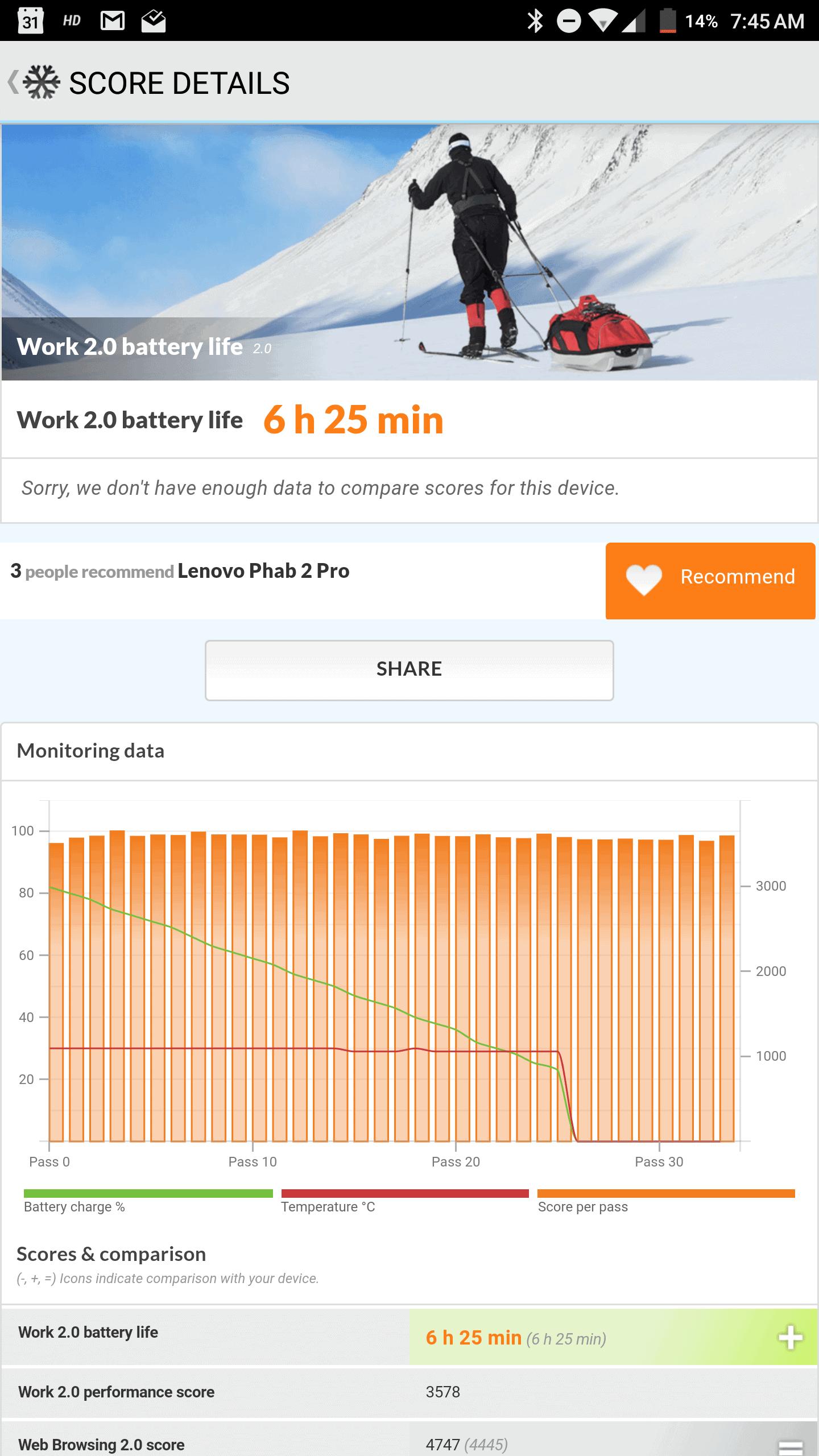 Lenovo PHAB2 Pro AH NS Screenshots battery test