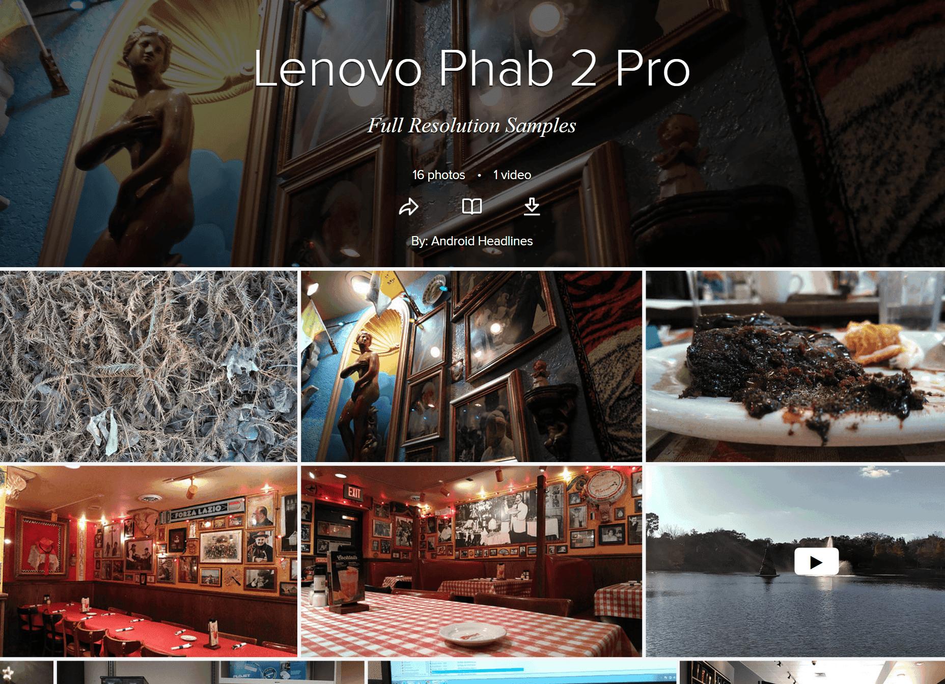 review lenovo phab 2 pro tango phone androidheadlines com