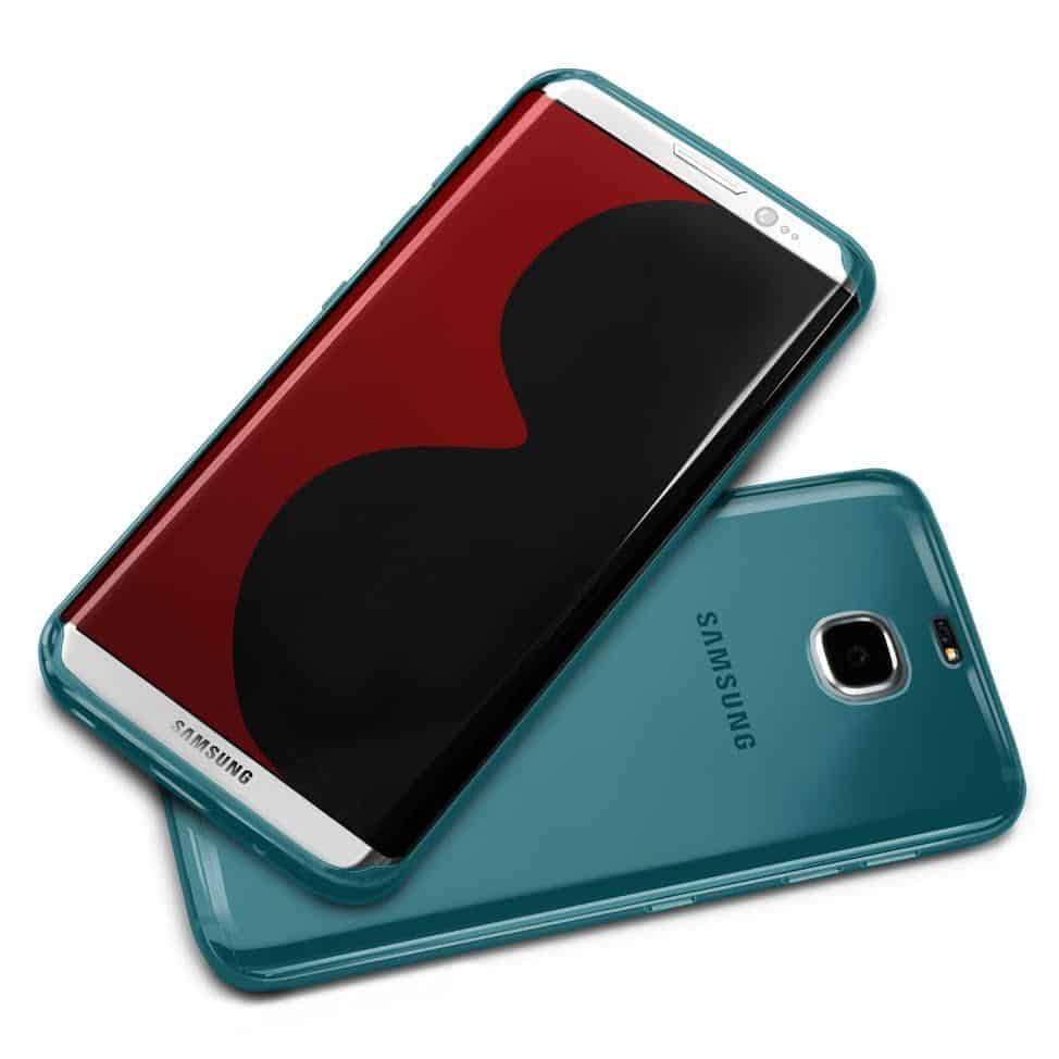 MobileFun Olixar Flexishield Samsung Galaxy S8 Case Blue