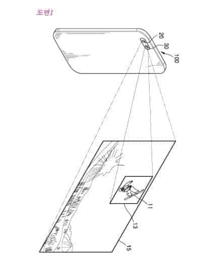Samsung Dual Camera Patent 2