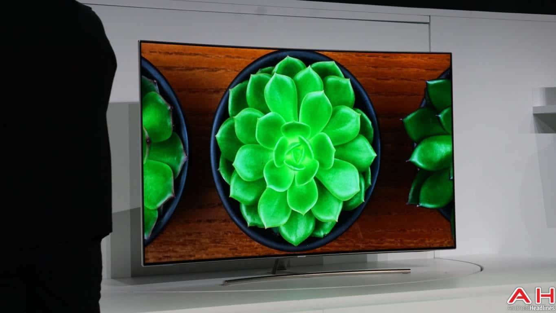 Samsung QLED TV CES AH 2