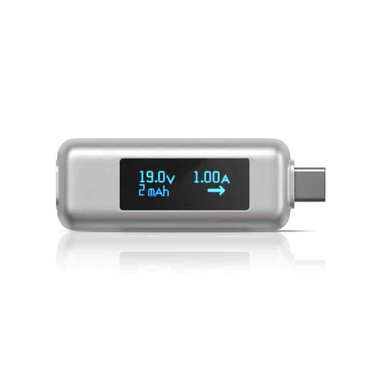 1080p satechi universal usb c power meter 3 comes with different